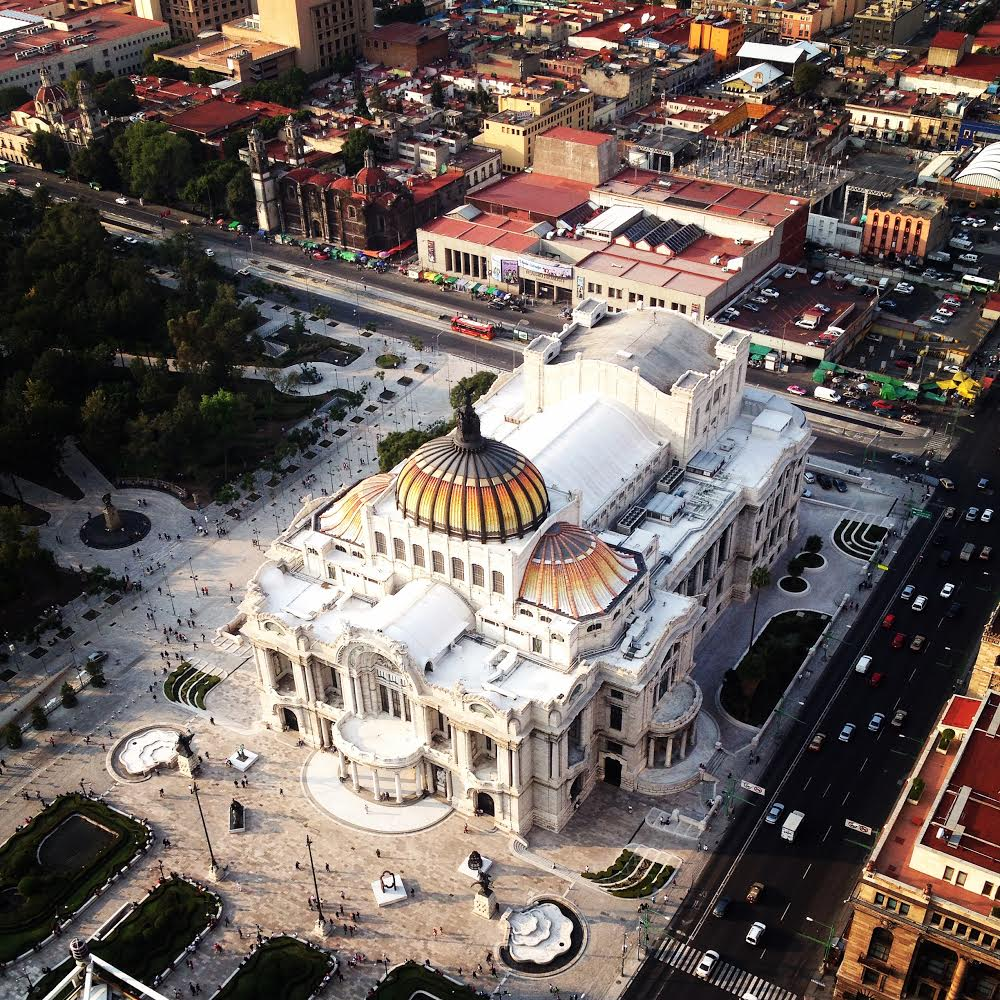 Teatro Bellas Artes in Mexico City