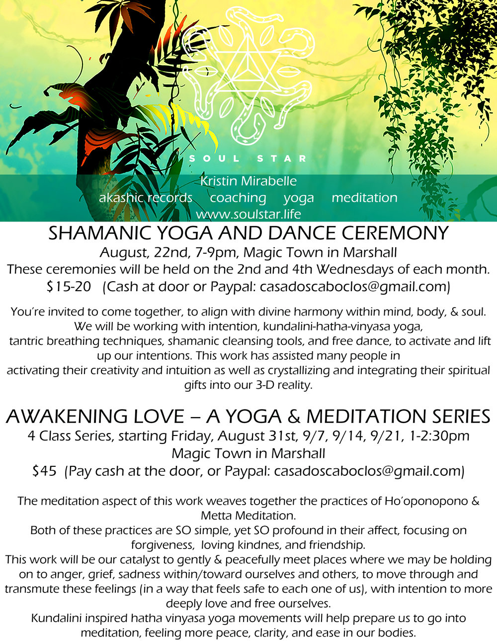 SHAMANIC YOGA AND AWAKENING LOVE FLYER.jpg