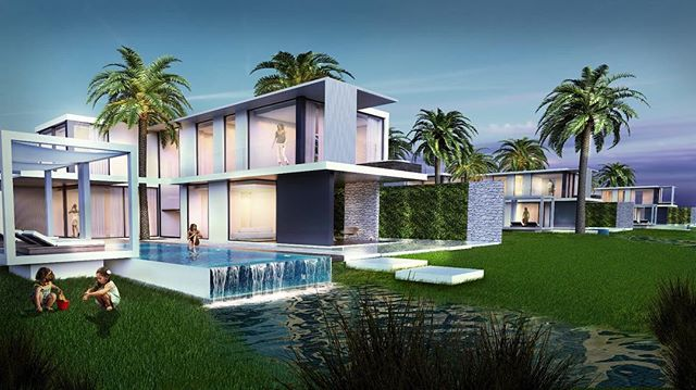 New Real Estate Complex in Egypt: CLEO BAY, the place to be. SeaView Villa is the perfect home for those people interested in a private luxury space with an amazing view. It is a home designed for families with prestigious rooms and entertaining living areas.  Swimming pool in a private garden surrounded by water-mirrors and vegetation. 🌴 . . . . . #project #design #luxurylife #render #building #landscape #landscape_lovers #archilovers #egypt #architettura #hotels #travels #travelers #landscapelovers #architecturelovers #luxurylifestyle #architecturephotography #resort #architecturedesign #architecturedaily #luxuryrealestate #hoteldesign #travelogue #architects #architectslife #resorts #serapioniprogetti