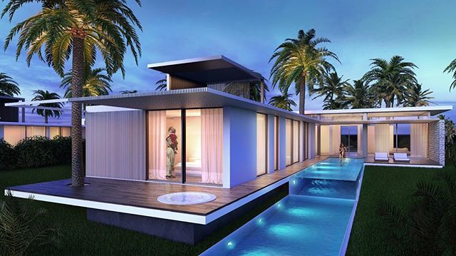 New Real Estate Complex in Egypt: CLEO BAY, the place to be. SeaView Villa is a one story home with three bedrooms, one masterbedroom with jacuzzi on the deck, and huge living spaces where there is a palm crossing the roof through a glass box which gives light to the interior. 🌴 . . . . . #project #design #luxurylife #render #building #landscape #landscape_lovers #archilovers #egypt #architettura #hotels #travels #travelers #landscapelovers #architecturelovers #luxurylifestyle #architecturephotography #resort #architecturedesign #architecturedaily #luxuryrealestate #hoteldesign #travelogue #architects #architectslife #resorts #serapioniprogetti
