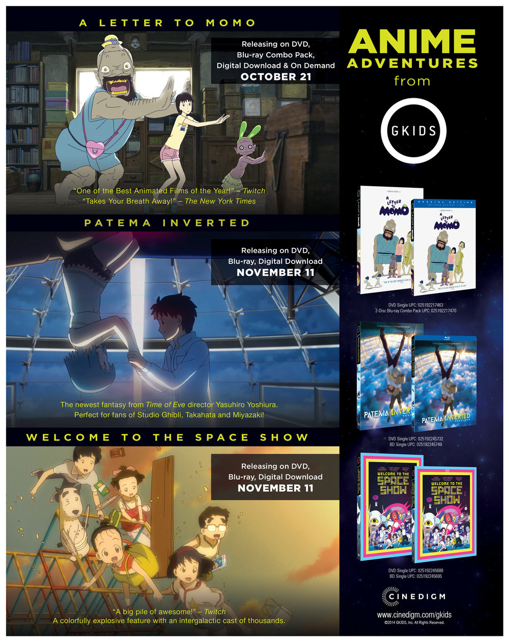 GKids Full Page Ad