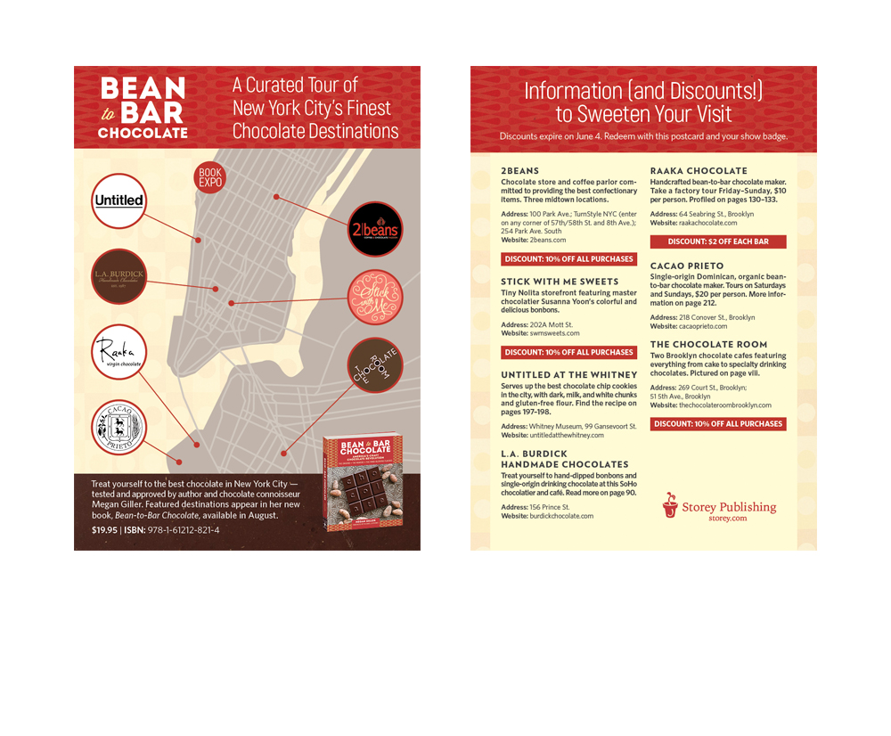 Bean-to-Bar Chocolate Postcard