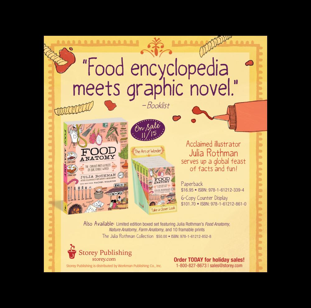 Food Anatomy Ad