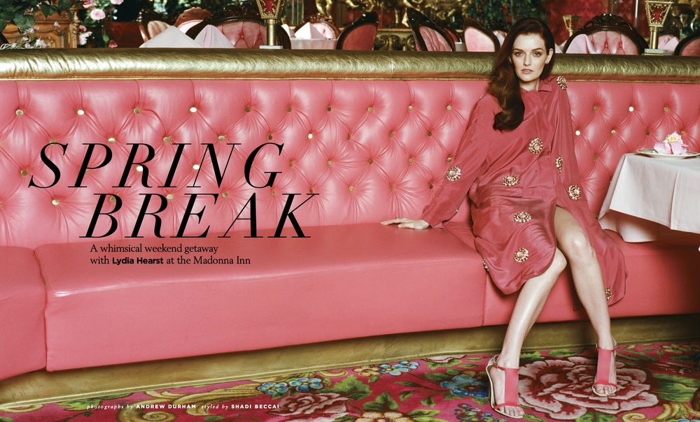 Lydia Hearst x Santa Barbara Magazine by Andrew Durham