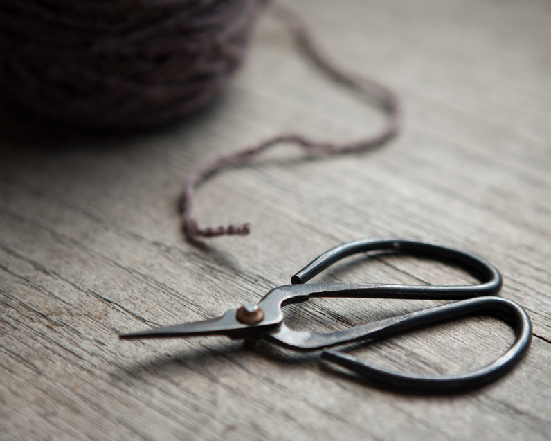 TOLT YARN AND WOOL - KNIFE EDGE SCISSORS  for the knitters, sewers, and ones who appreciate a good craft.
