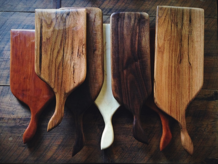 ANVIL GOODS - HANDLED CUTTING BOARD  for the food makers and hungry folk.