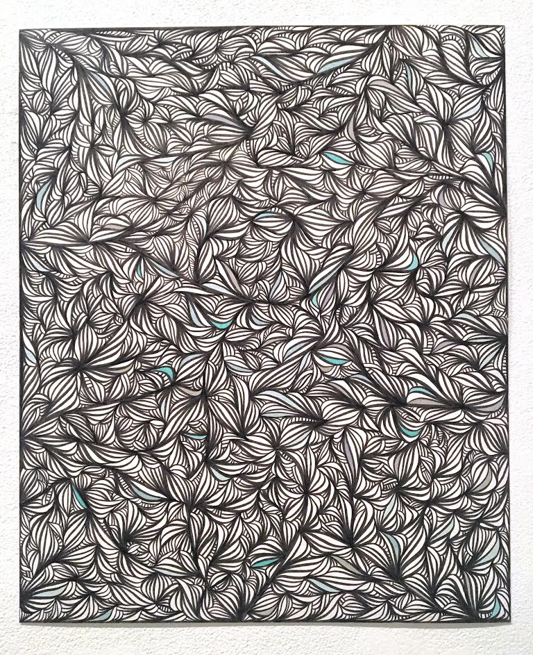 "(After: Clarity IV, ink on bristol 17"" x 14"")"