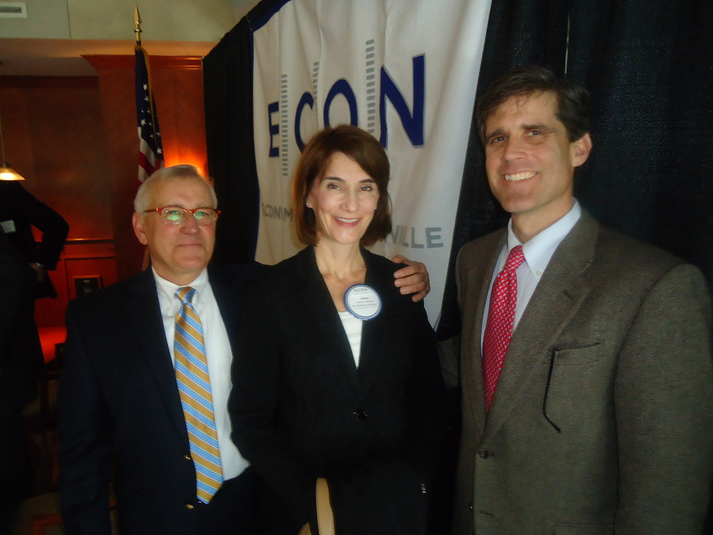 Rob Gordon, NPR; Celeste Patterson, H.G. Hill; and Tom Harwell, Eakin Partners