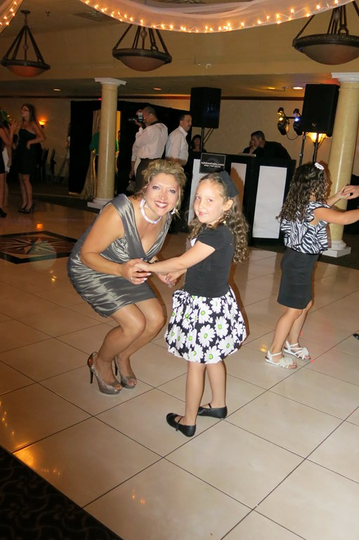 Chloe dancing with Annmarie