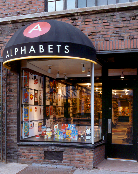 Alphabets Retail Design New York