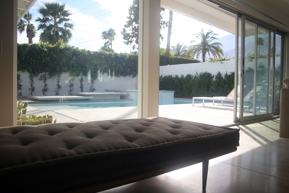 Palm Springs Residence Architectural Design Sliding Doors
