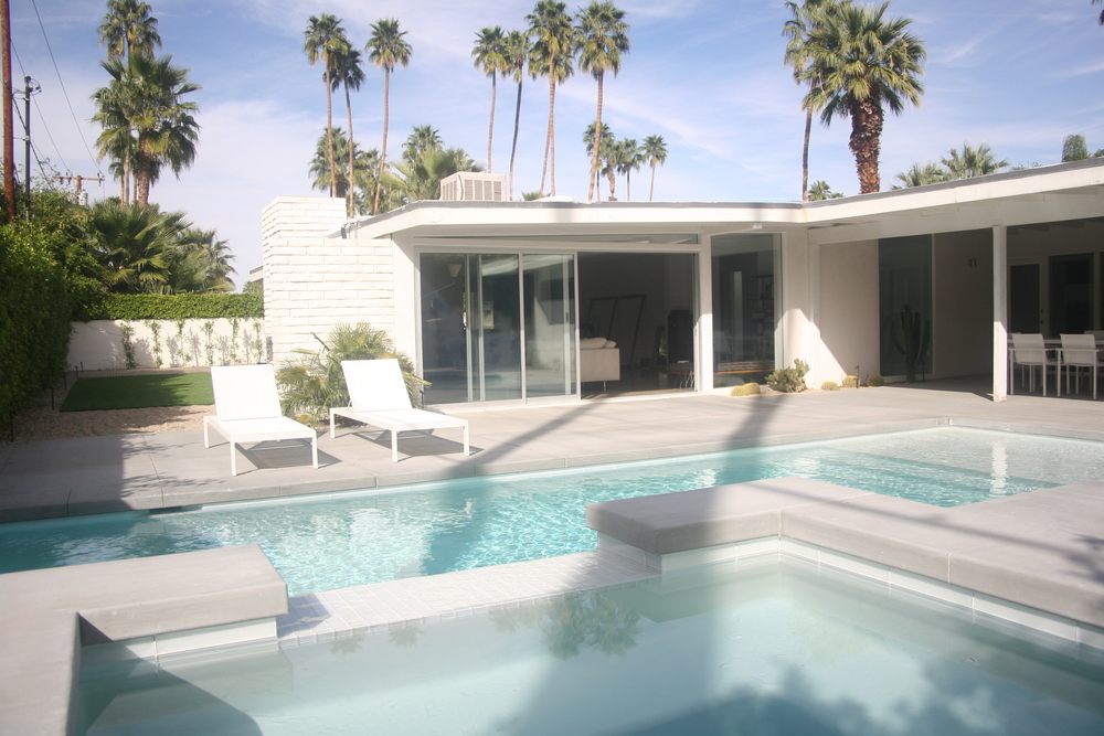 Palm Springs Residence Architectural Design Pool