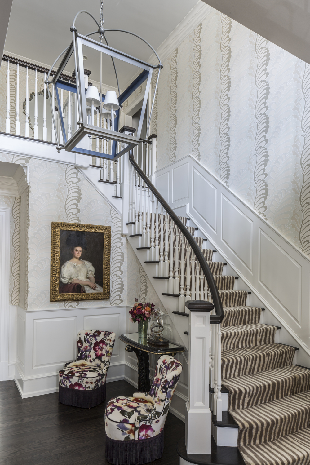 Old Greenwich Residence Foyer Design
