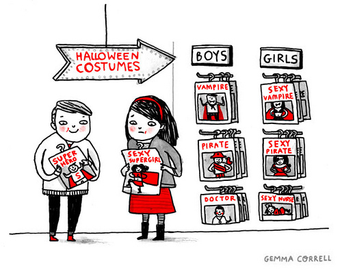 Unfortunately accurate (via gemma correll and her merry band of misfits)