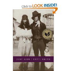 (via  Amazon.com: Just Kids (9780066211312): Patti Smith: Books )   Read it. It's so so so so so so good.