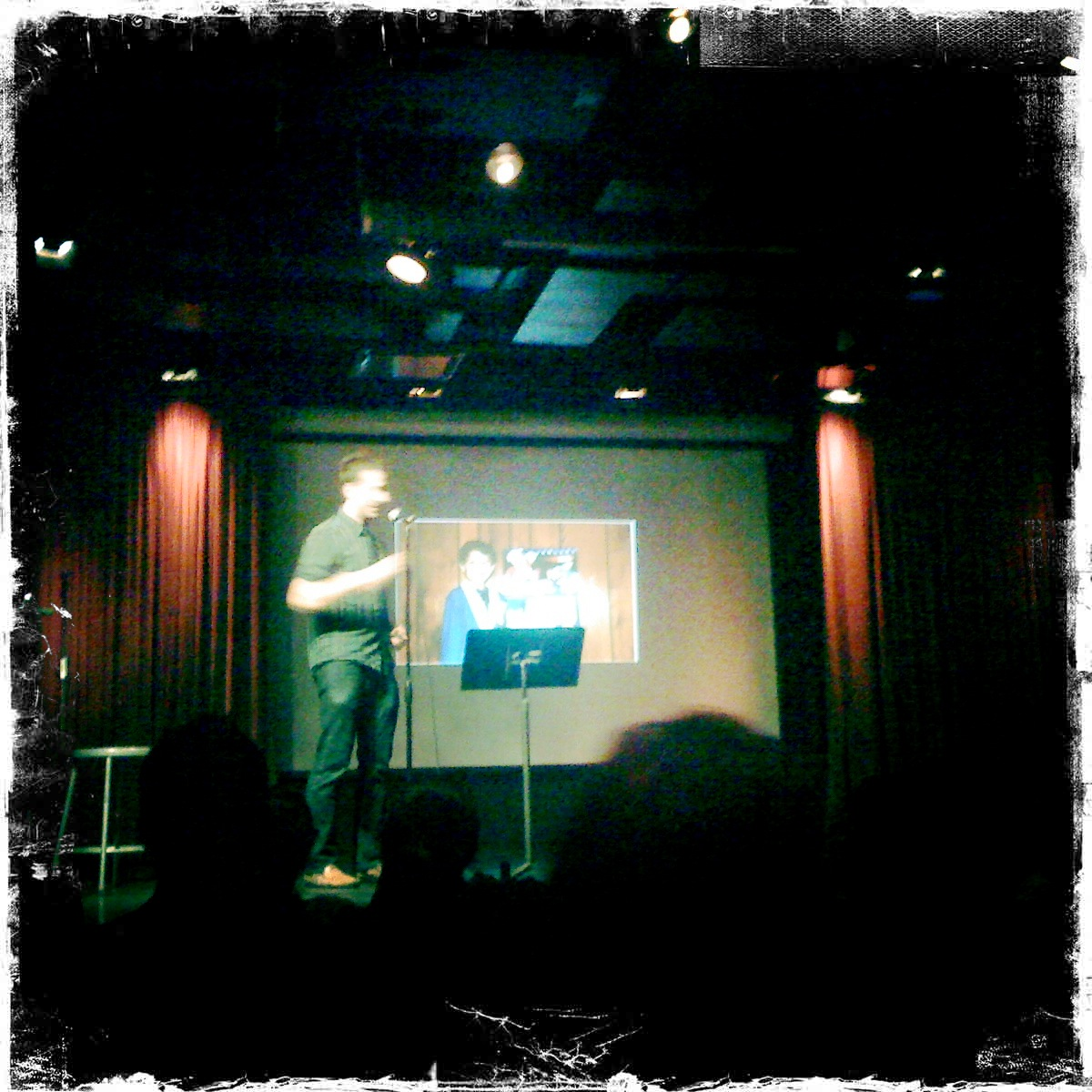 Steve performing at  getmortified.com  last night. It was awesome.
