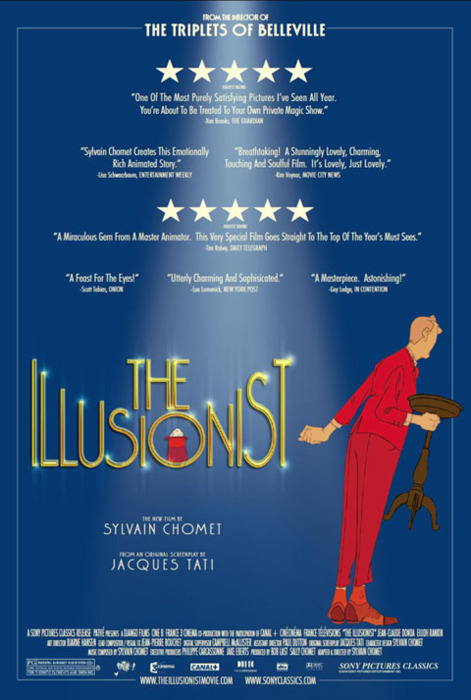 "U.S. poster for ""The Illusionist"" 