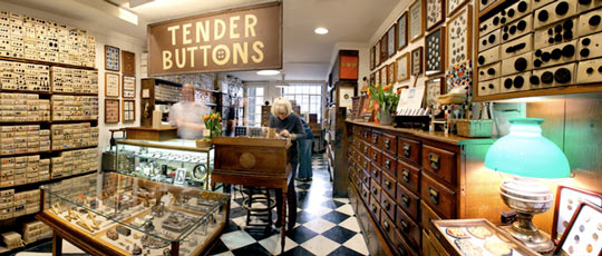 Tender Buttons Store Profile | Apartment Therapy New York    Field trip!
