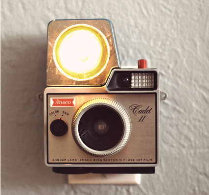 Turn a Broken Camera into a Night Light DIY (via Re-Nest)