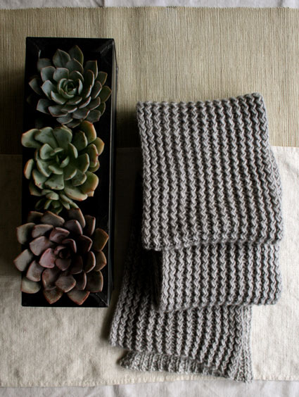 Rick Rack Scarf (via the purl bee)