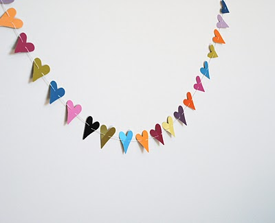 Paper Punch Garland - A Photo Tutorial (via grace and light)