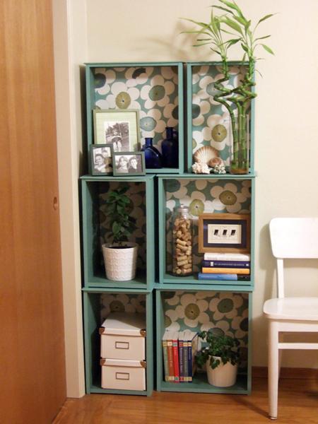 Modular Bookcase DIY (via Craftzine)
