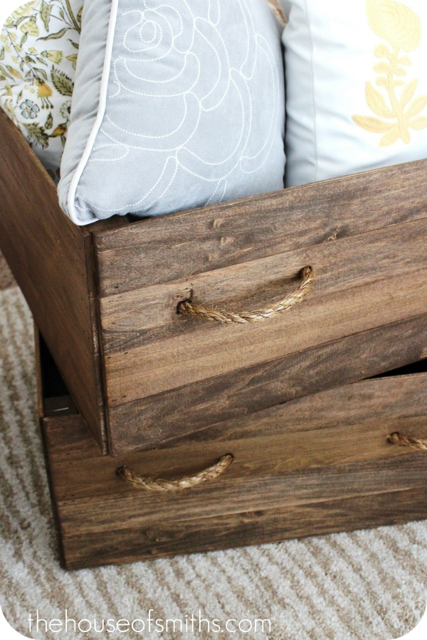 DIY Vintage Crates (via The House of Smiths)
