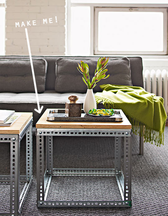 (via  Build Your Own Industrial Side Tables | Apartment Therapy Chicago )