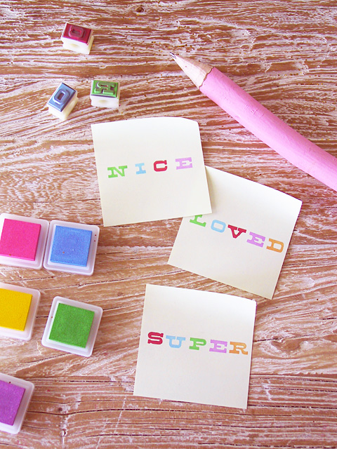 DIY Valentine Post-it Love Notes » Eat Drink Chic