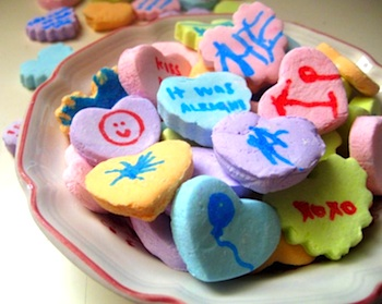 Make Your Own Conversation Hearts! - The Crafty Crow