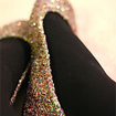 Make Your Own Glitter Flats At Home - The Consumerist