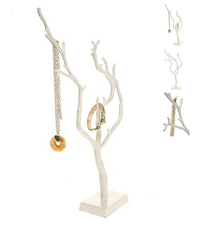 DIY Home Gift Series- Tree Branch Necklace Holder