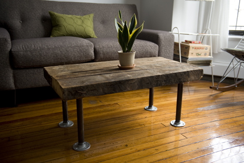 Darling Dexter - Darling Dexter - Handmade Coffee Table    This is amazing! Our coffee table needs new legs…hmmm…
