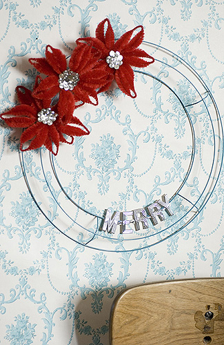 {scissor variations}: DIY: wreath redux