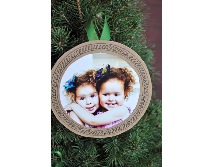 bookhoucraftprojects: Project #69: Photo Ornaments for Christmas