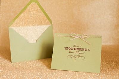 Sugar and Charm: DIY Holiday Cards