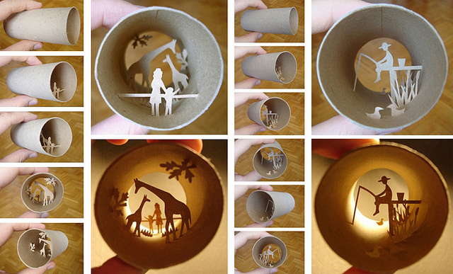 wikstenmade: awesome way to recycle toilet paper rolls