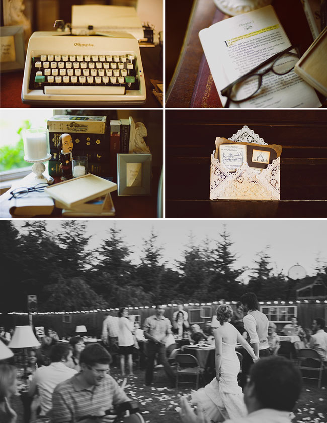 Jordan + Nick's DIY Backyard Real Wedding | Green Wedding Shoes - Head Over Heels for All Things Weddings    One of my best friends got engaged over the weekend! So here's a DIY wedding