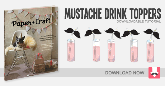 ModCloth Blog» Blog Archive» DIY Mustaches for All!