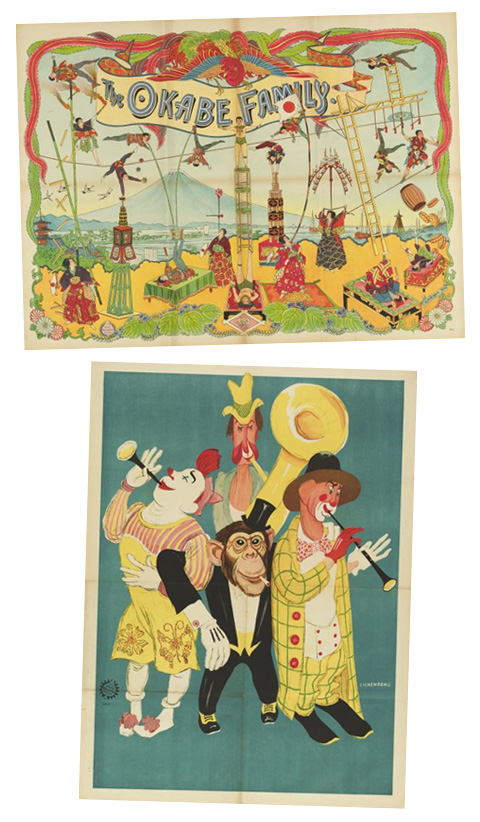 Circus Museum Vintage Posters » Eat Drink Chic