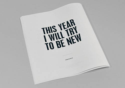 paper tastebuds» Blog Archive» this year i will try not to: a manifesto