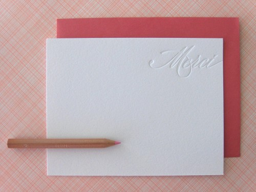 Twig & Thistle » Blog Archive » Hello + Thank You! I need to make new Thank You cards