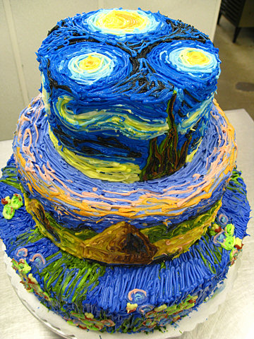 FFFFOUND! | Flickr Photo Download: impressionist cake