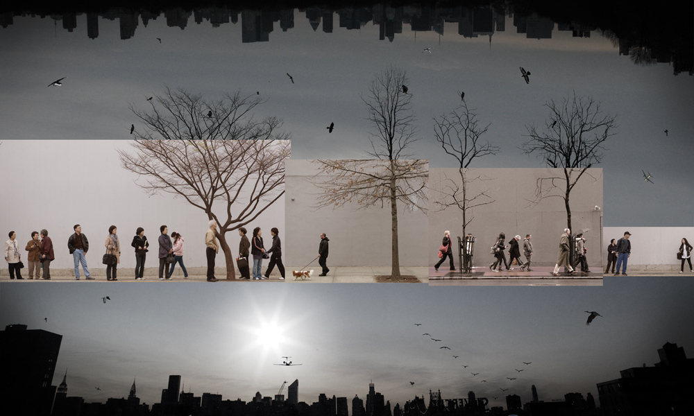 A world in the City II-02(40x60 in)2010