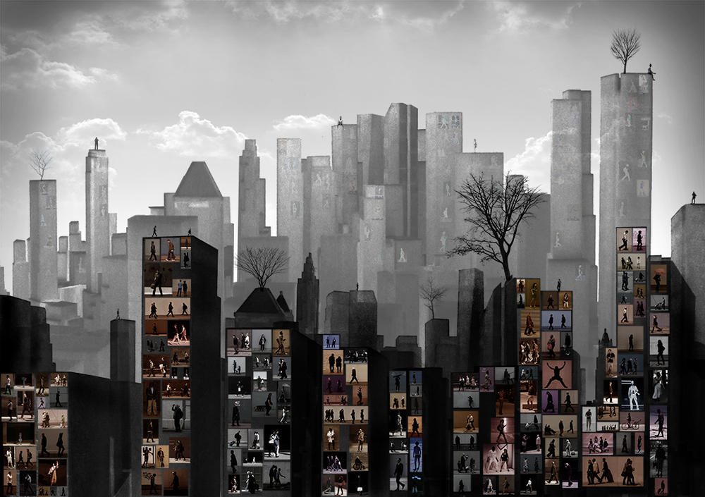 City Life-01(35x50 in)2014