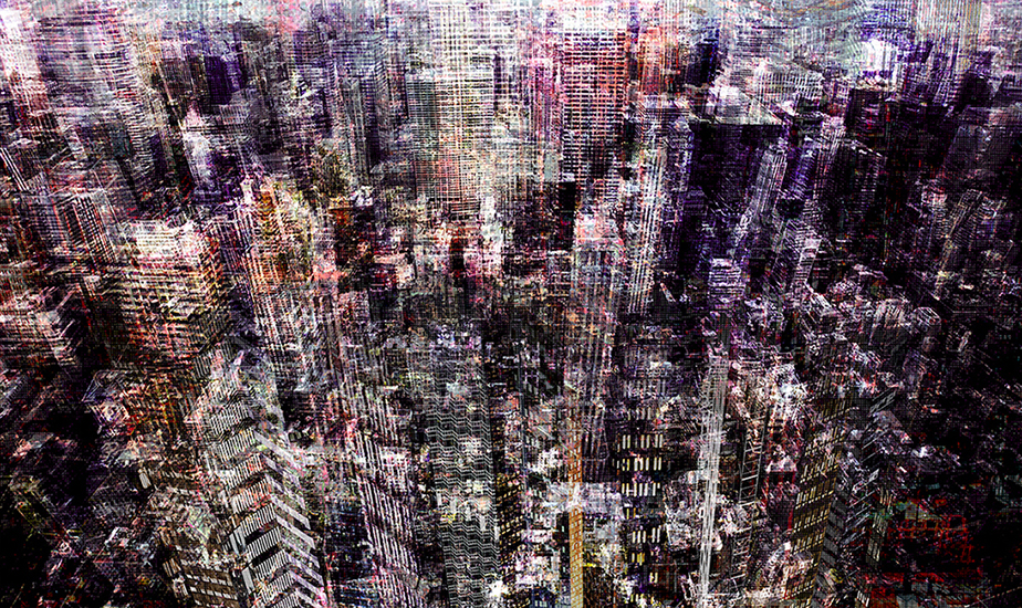 Congested city(35x58 in)_2015