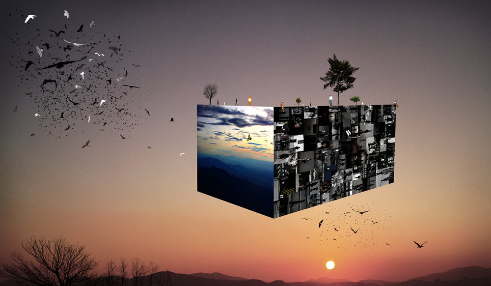 A World in the City III_11(40x60 in)2011