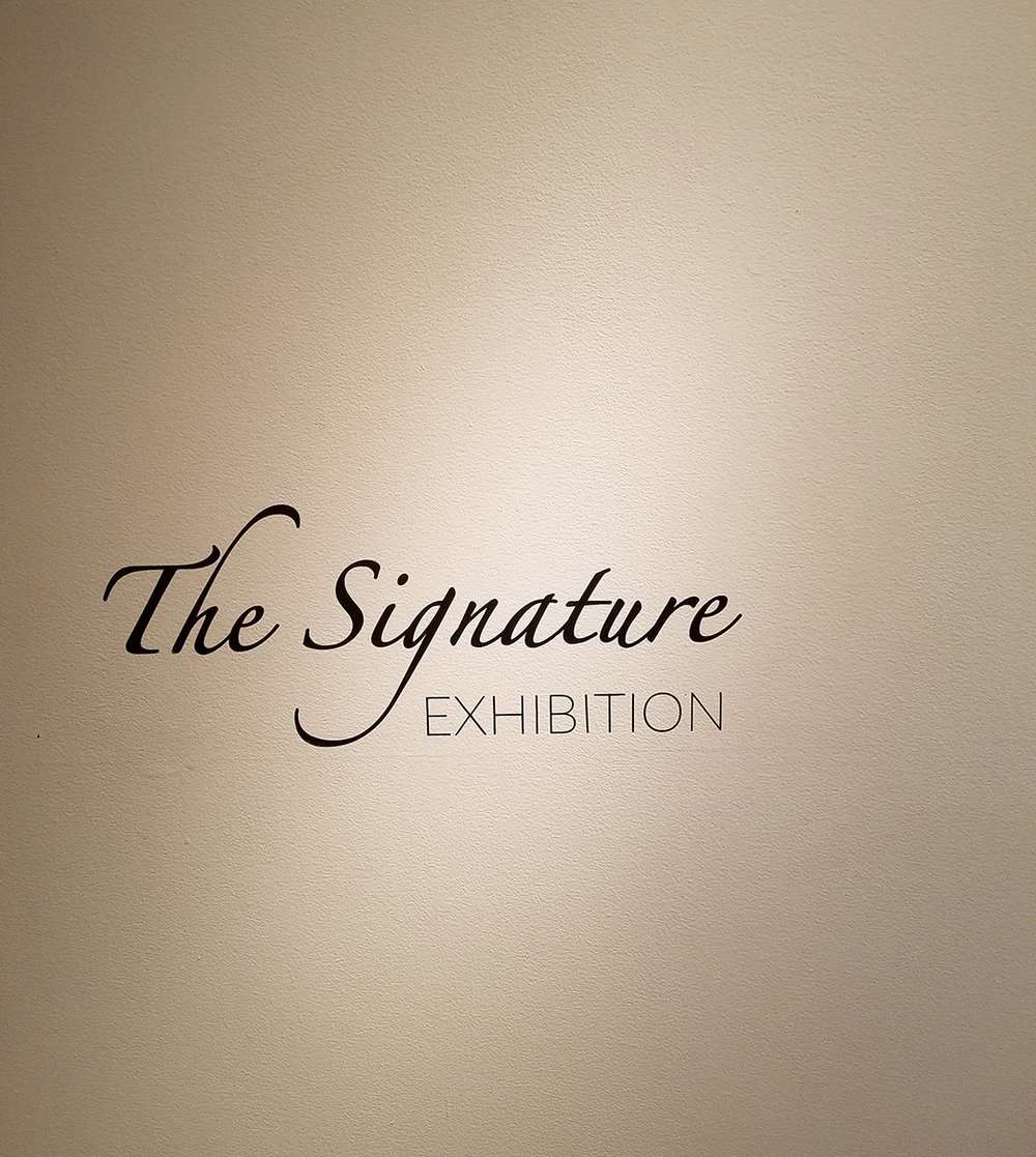 The Signature Exhibition 2018