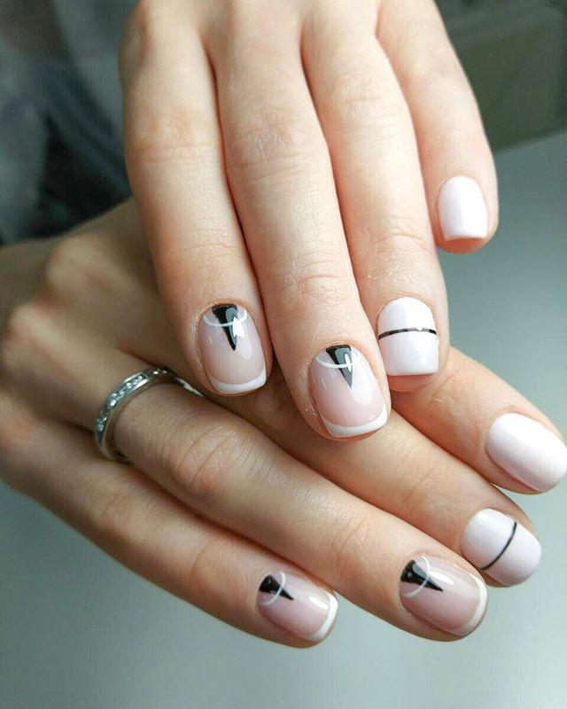 Оригинальный дизайн от #мастер_федорова_виктория #инвог_ногтевой_сервис #invogue_nail_serveces