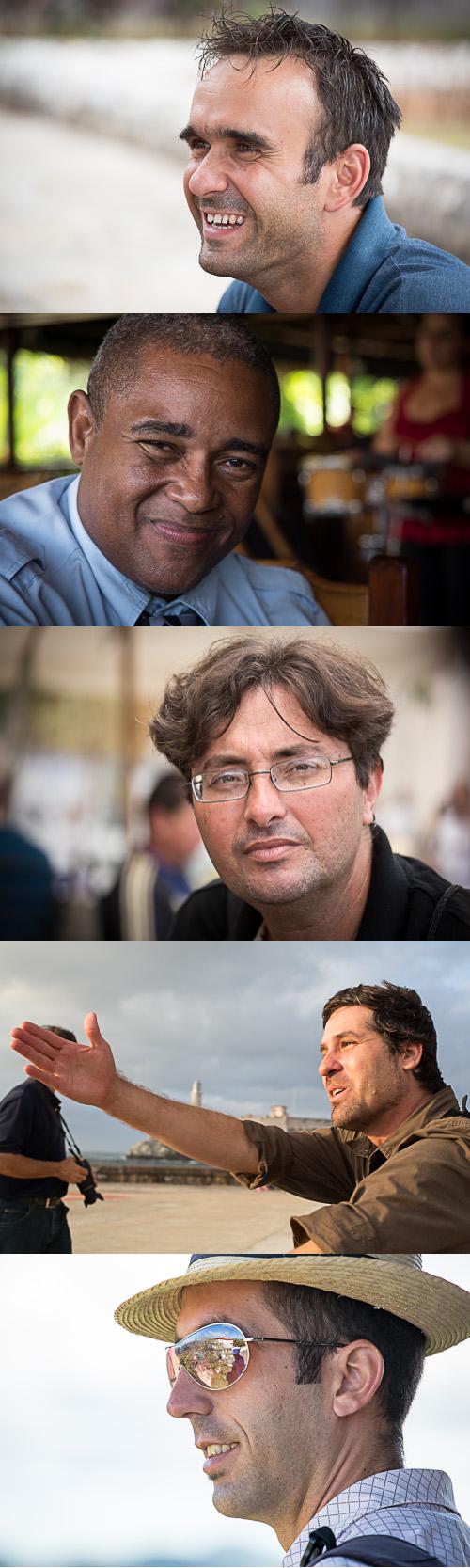 Lazaro, Tony, Nestor, Alain, and Yaniel